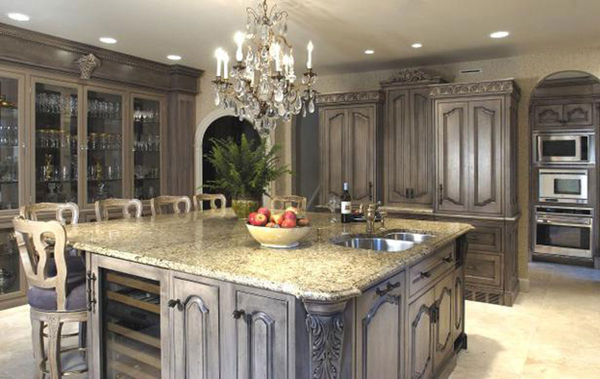 Luxury Kitchen Cabinet China Kitchen Furniture Solid