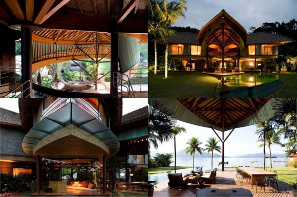 luxury leaf house designs