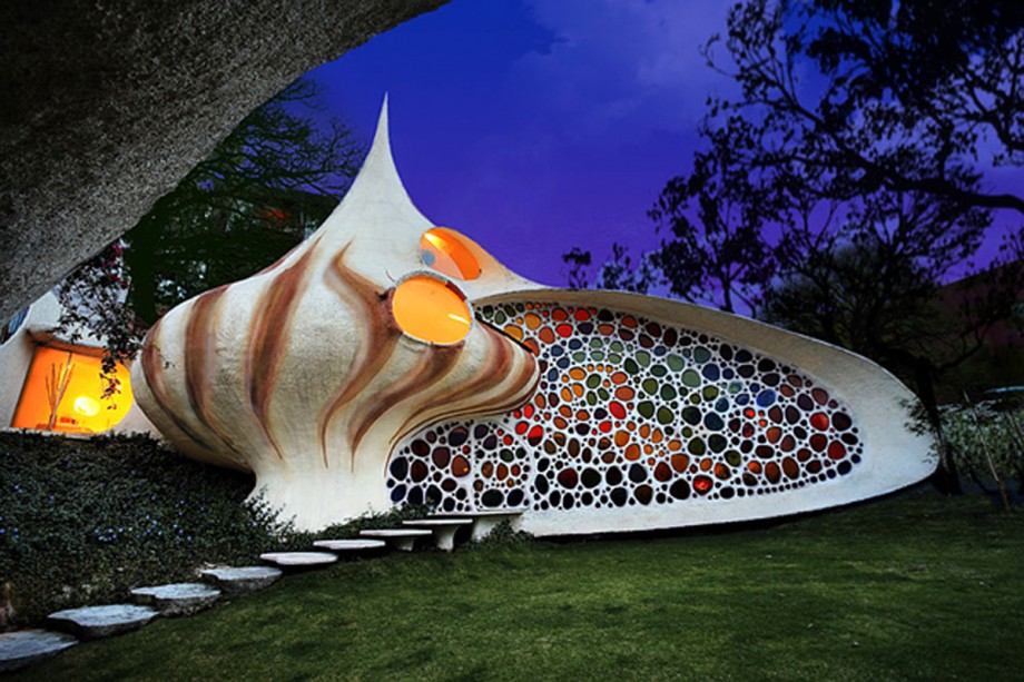 super natural shell house