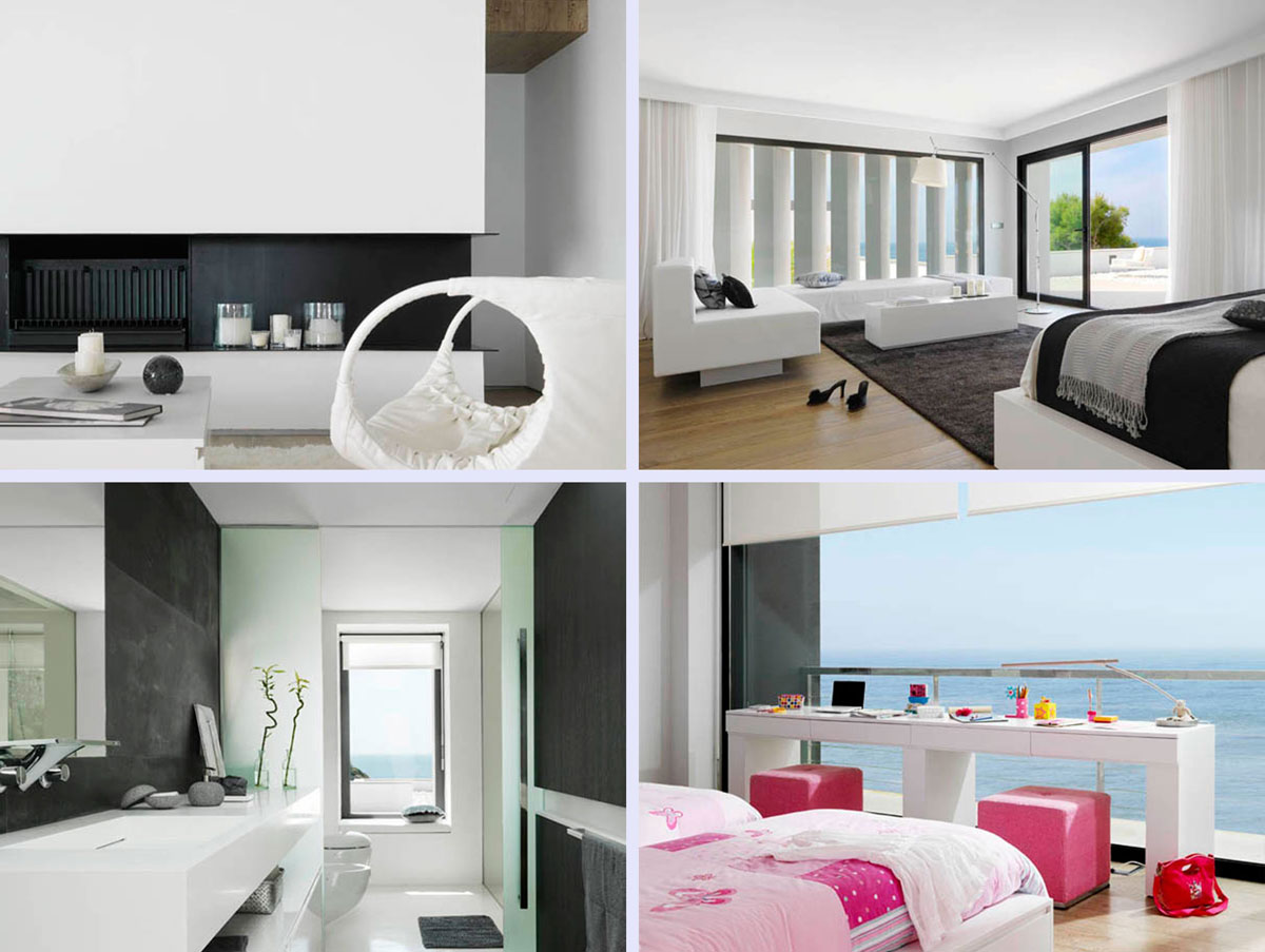 Beautiful dream house imaginations for Inside outside bedroom designs