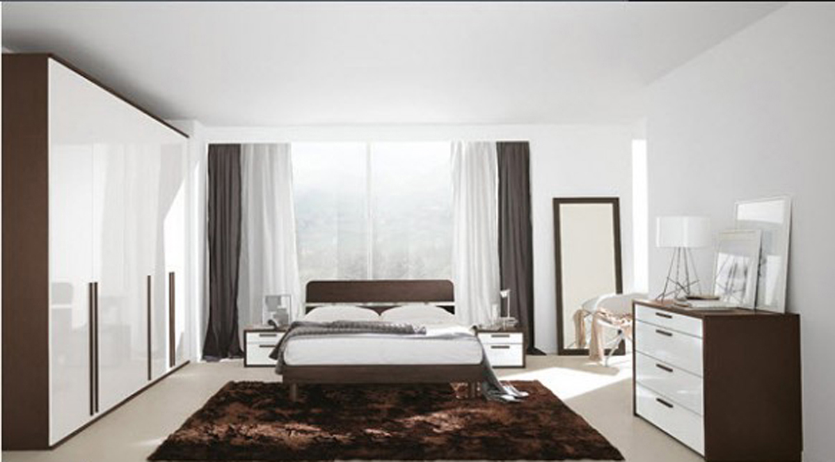 Black And White Bedroom Applications