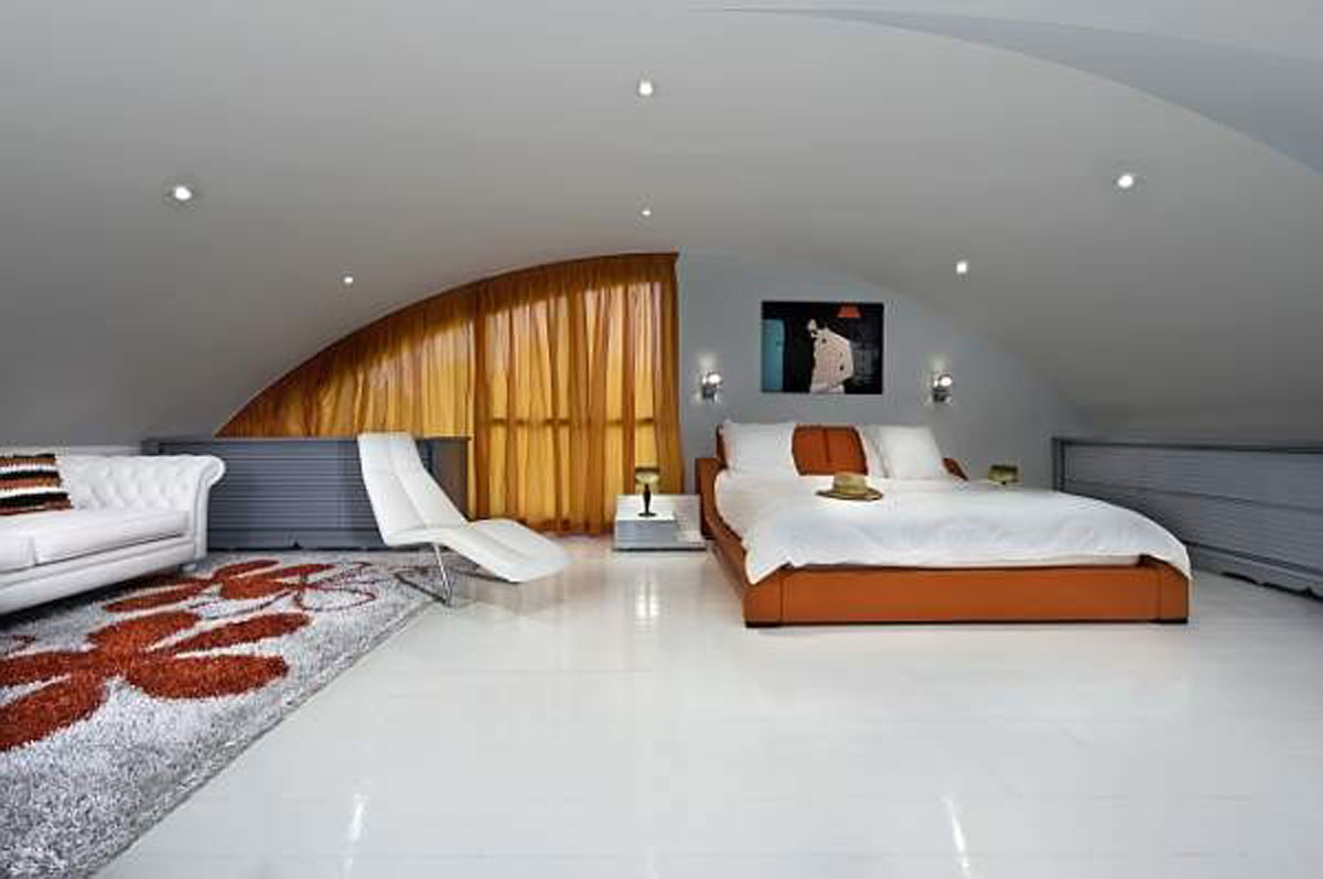 Contemporary master bedroom interior for Nice houses inside