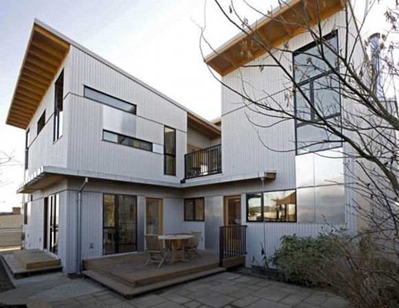 great modern home building