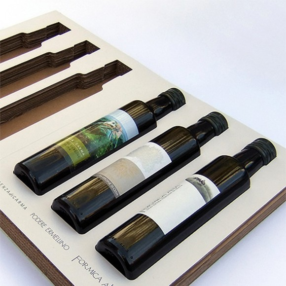 integrated bottle book package