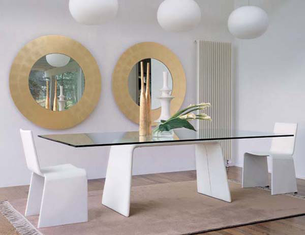 Nice Home Dining Room Furniture One of 5 total Images Modern Glass ...