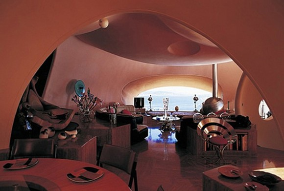 romantic restaurant interior villa space