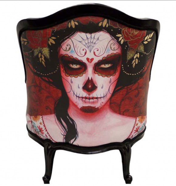 gothic style urban chair style