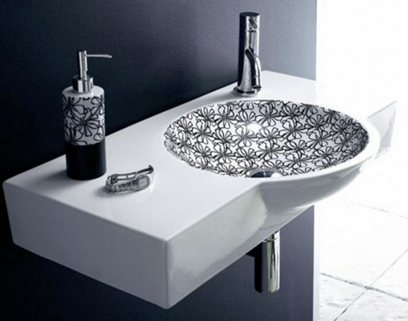 artistic washbasin decor ideas