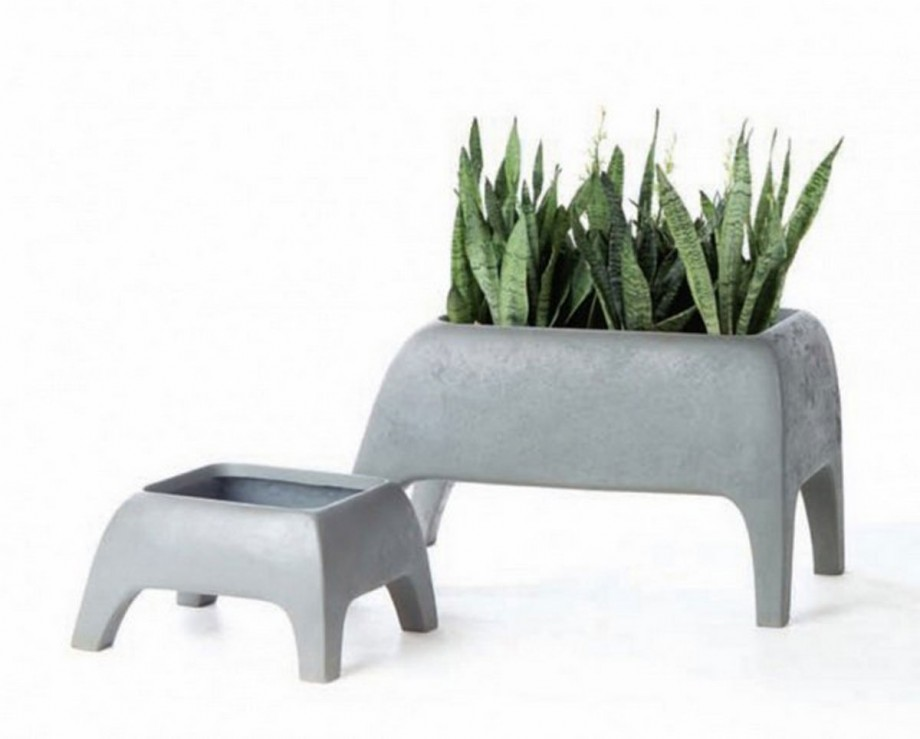 creative concrete planter ideas