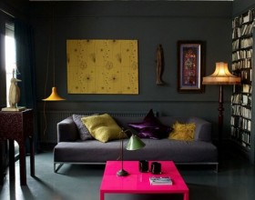 exclusive style dark interior ideas