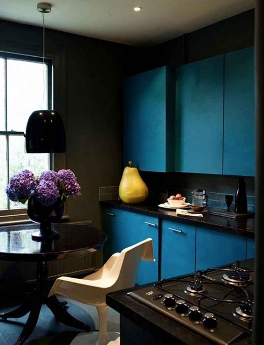 inspiring blue black combination
