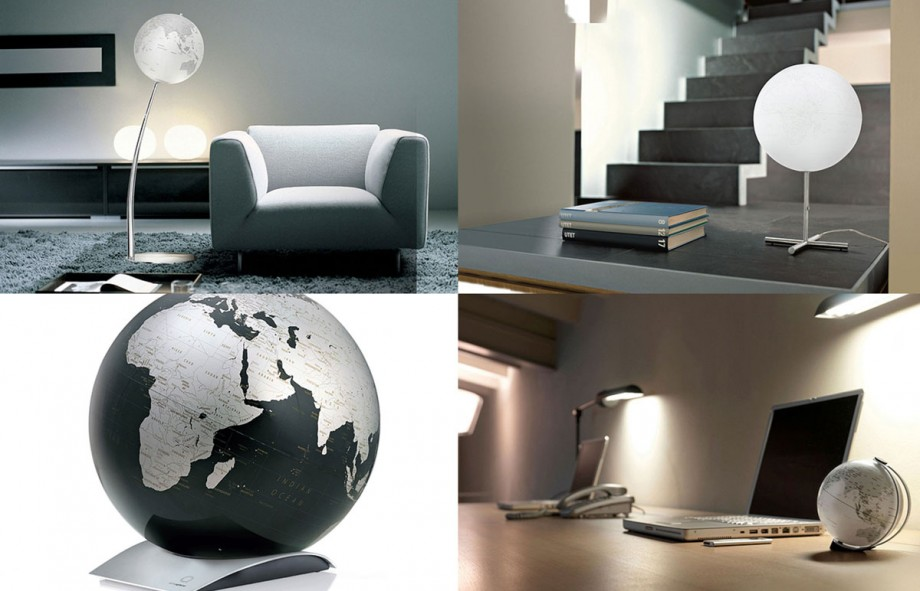 minimalist globe lamp ideas