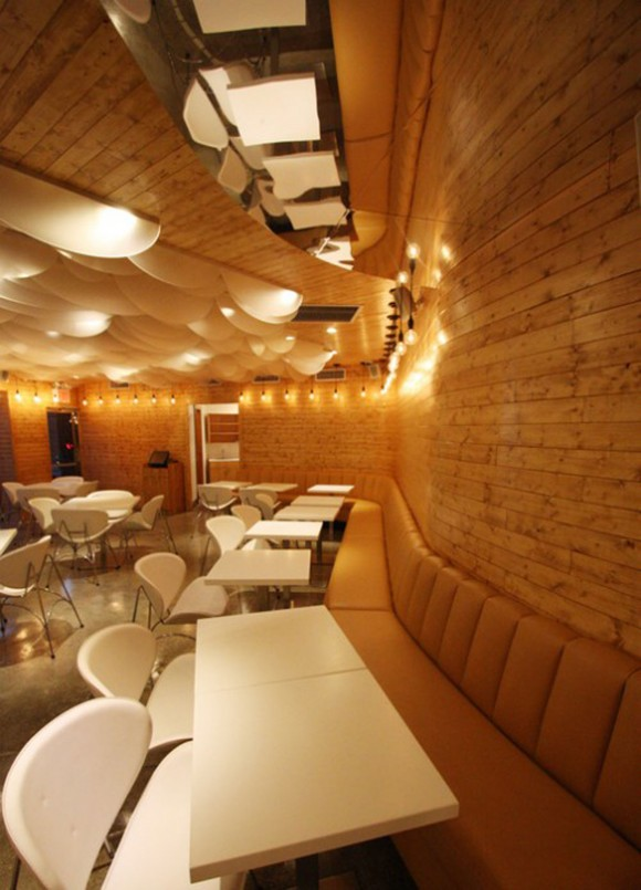 nice cafe and restaurant interior
