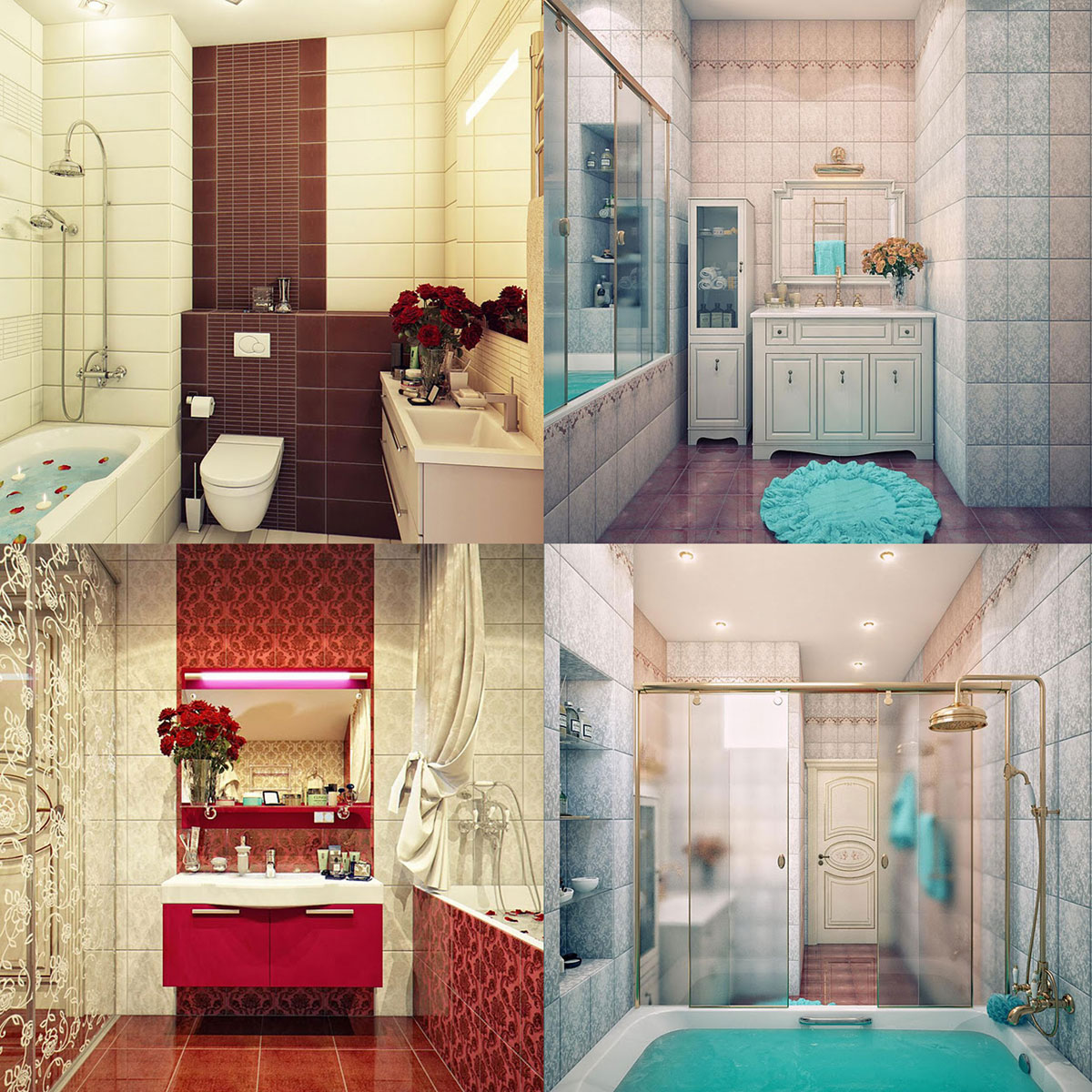 Small Bathroom Interior Design