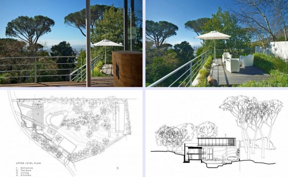 blue print of forest house design
