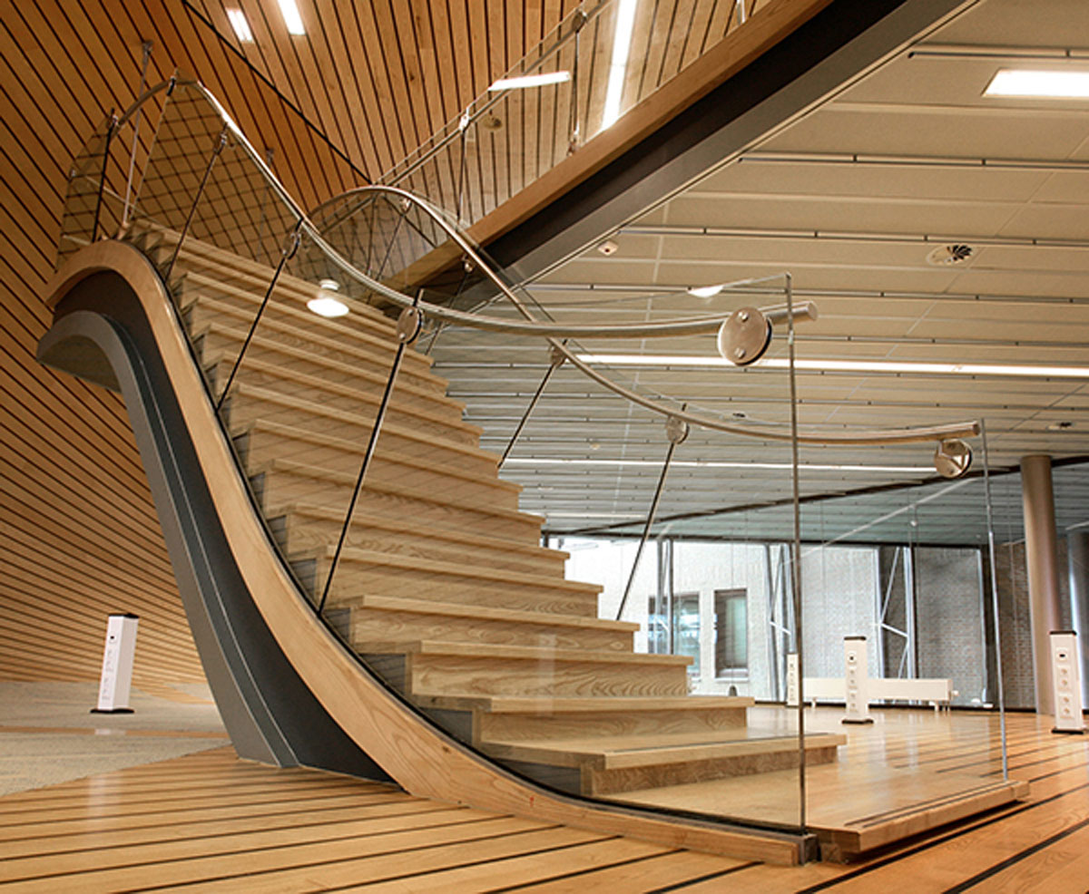 contemporary staircase interior design