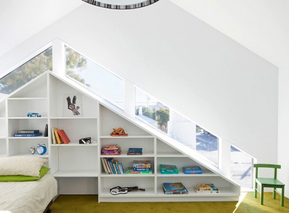 creative interior bookcase design
