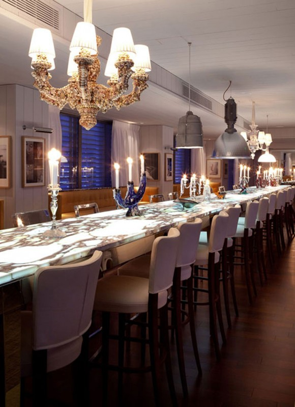 luxury dining room restaurant