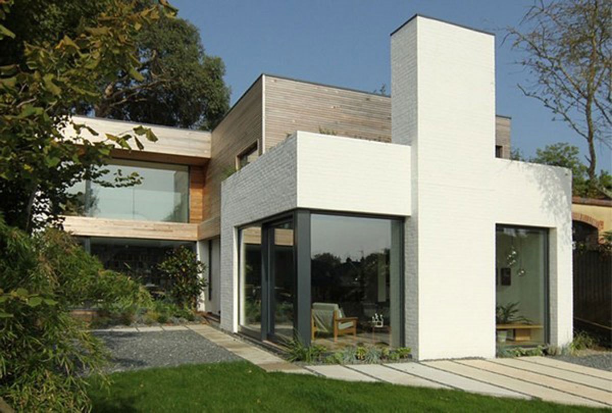 Minimalist house residence design for Minimalist house design pictures