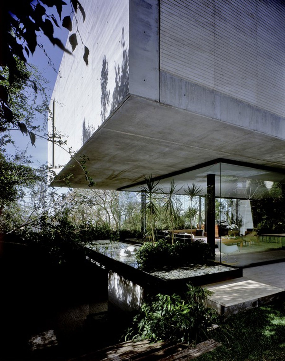 modern concrete house level design