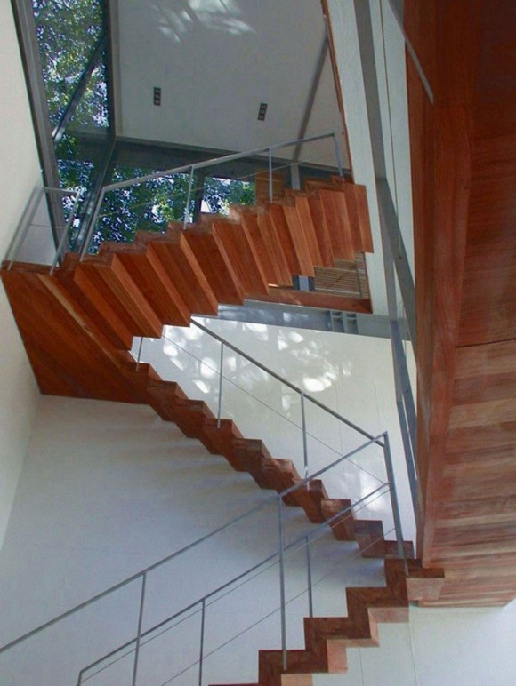 nice wooden staircase ideas
