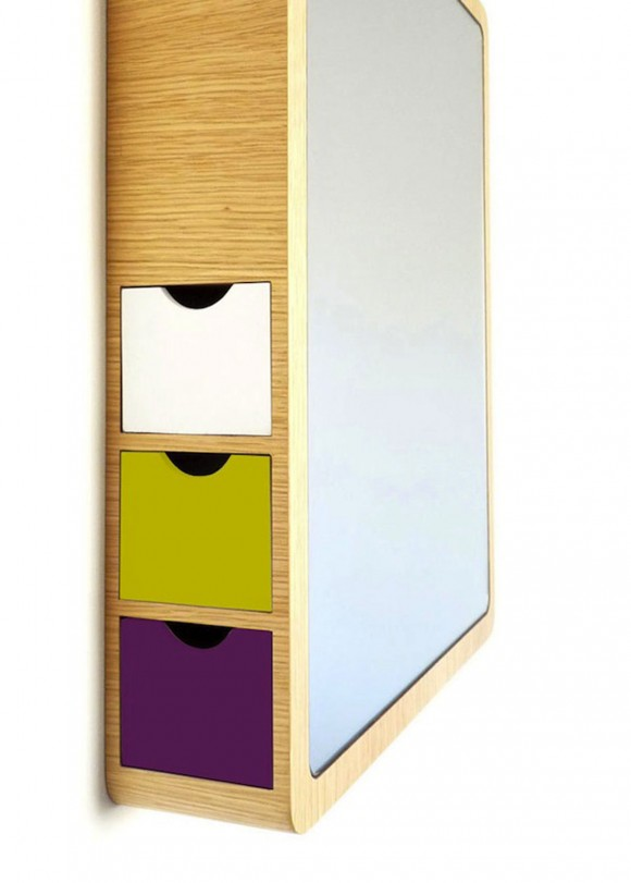wooden mirror storage plans