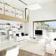 amazing white interior plans