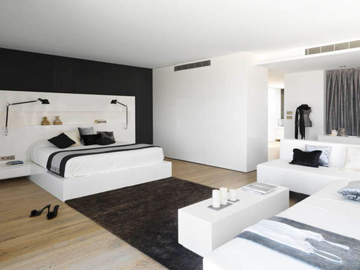 Black And White Master Bedroom Ideas Black And White Master Bedroom