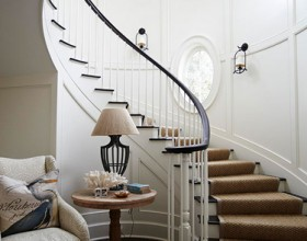 Smart Staircase Designs Create Elegant Functionality
