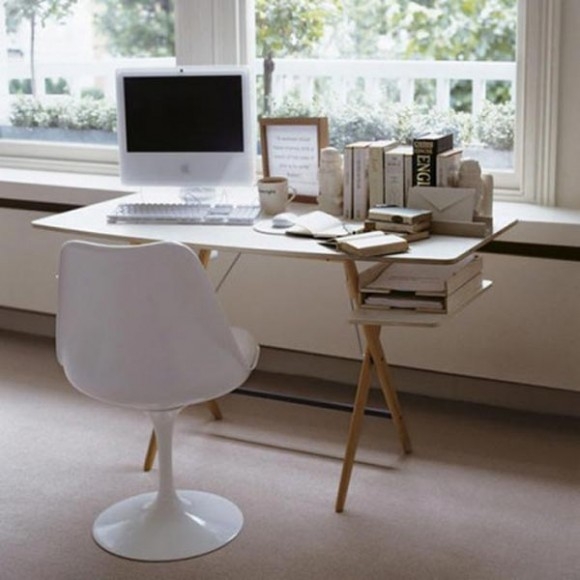 Boost Your Productivity Working from Home with Aesthetic & Functional Home Offices(12)