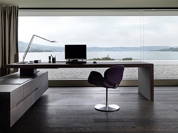 Boost Your Productivity Working from Home with Aesthetic & Functional Home Offices(14)