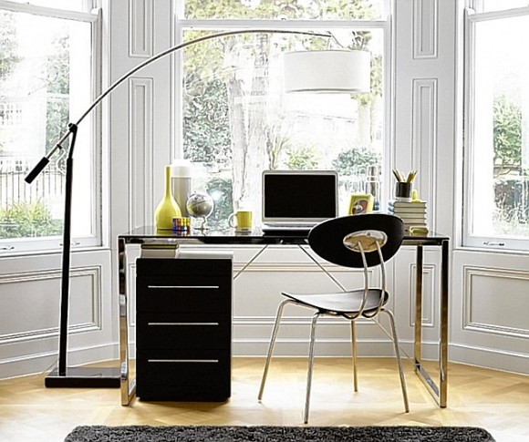 Boost Your Productivity Working from Home with Aesthetic & Functional Home Offices(15)