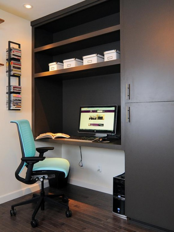 Boost Your Productivity Working from Home with Aesthetic & Functional Home Offices(16)