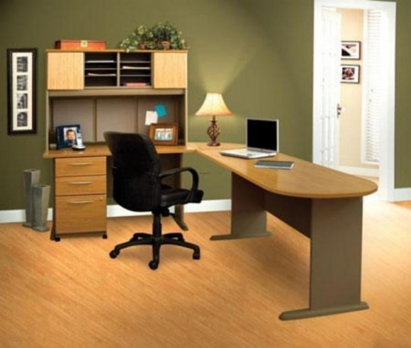Boost Your Productivity Working from Home with Aesthetic & Functional Home Offices(19)