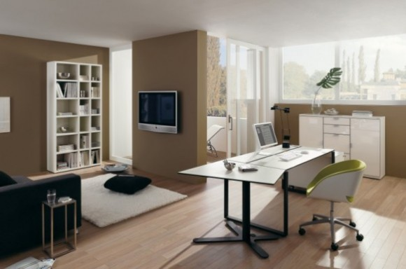 Boost Your Productivity Working from Home with Aesthetic & Functional Home Offices(4)
