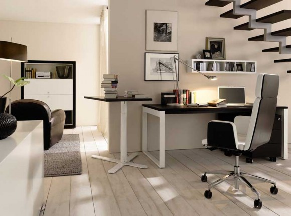 Boost Your Productivity Working from Home with Aesthetic & Functional Home Offices(6)