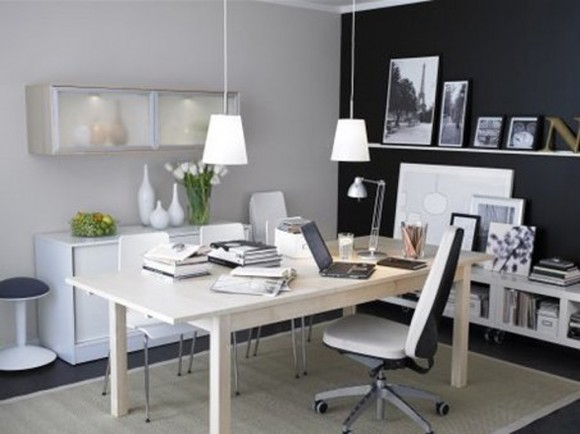 Boost Your Productivity Working from Home with Aesthetic & Functional Home Offices(7)