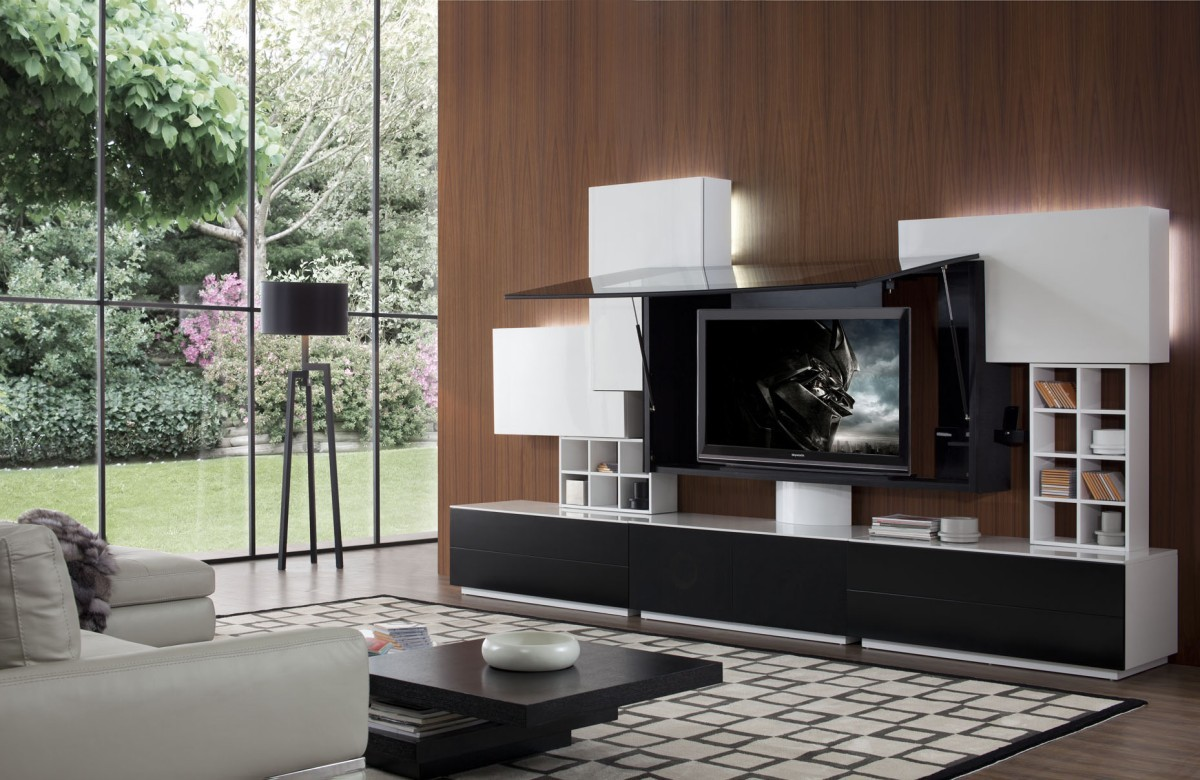 Entertainment center contemporary entertainment centers and tv stands - Building The Ultimate Entertainment Center 1 Iroonie Com