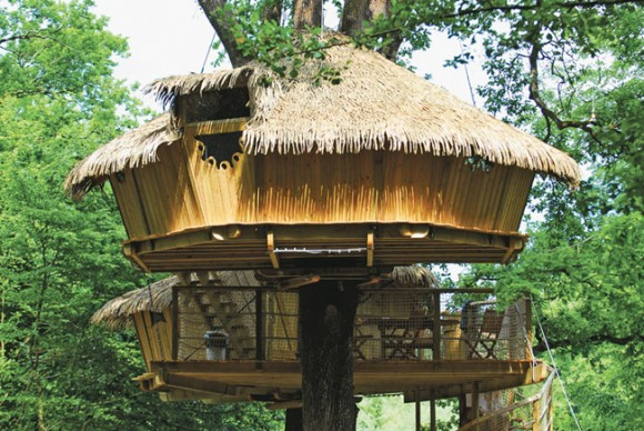 Keycamp's Tree House, France tourism destinations