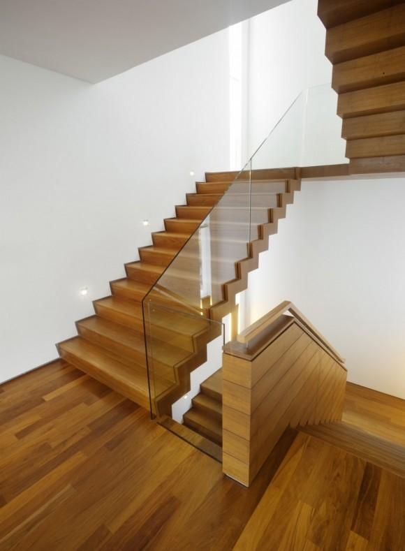 Smart Staircase Designs Create Elegant Functionality(15)
