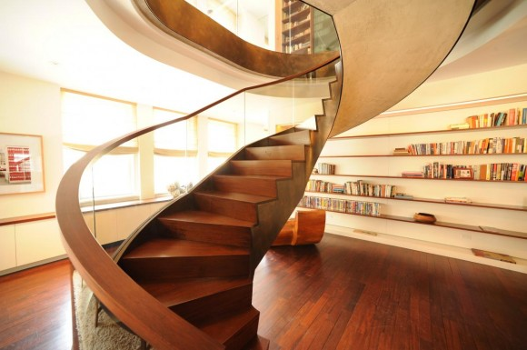Smart Staircase Designs Create Elegant Functionality(17)