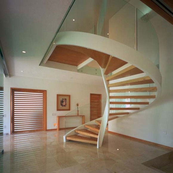 Smart Staircase Designs Create Elegant Functionality(4)