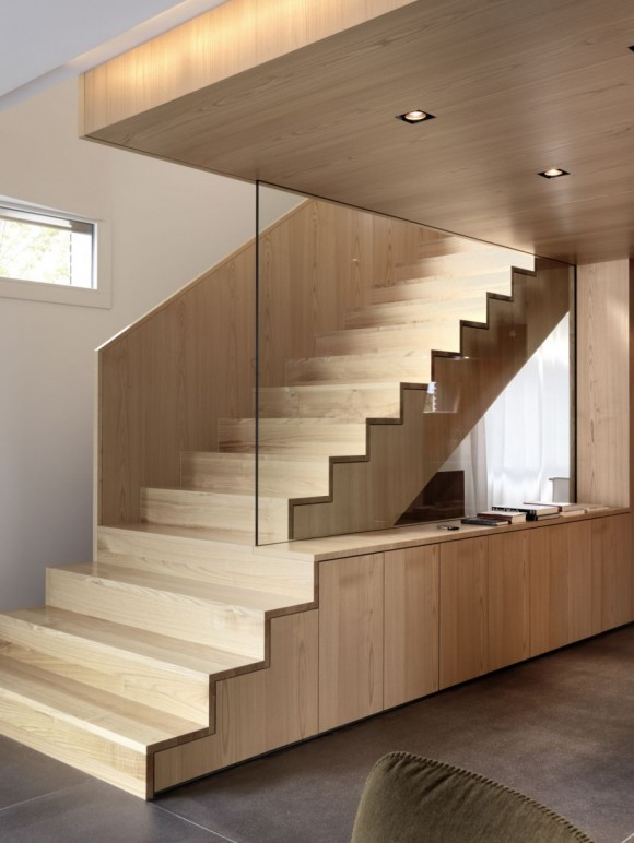 Smart Staircase Designs Create Elegant Functionality(6)