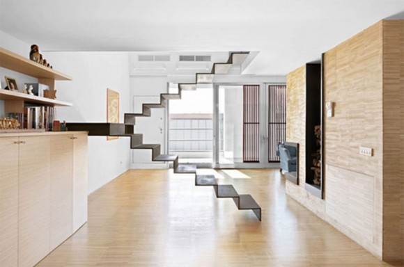 Smart Staircase Designs Create Elegant Functionality(8)