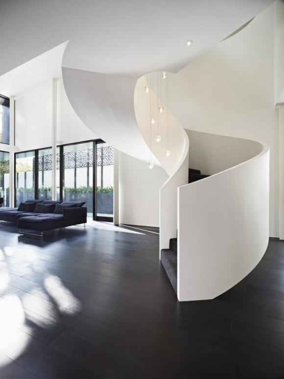 Smart Staircase Designs Create Elegant Functionality(9)