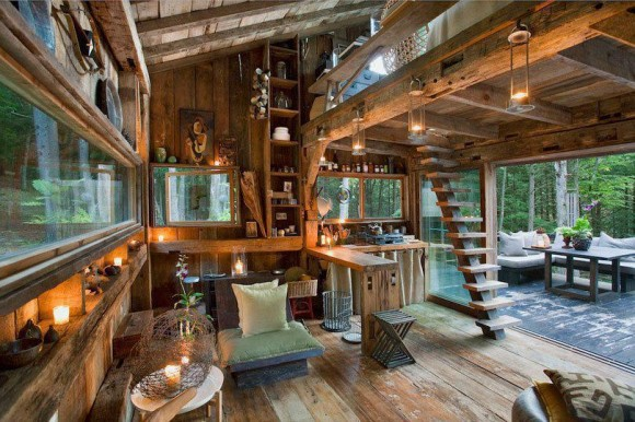 amazing rustic cabins 5. Black Bedroom Furniture Sets. Home Design Ideas