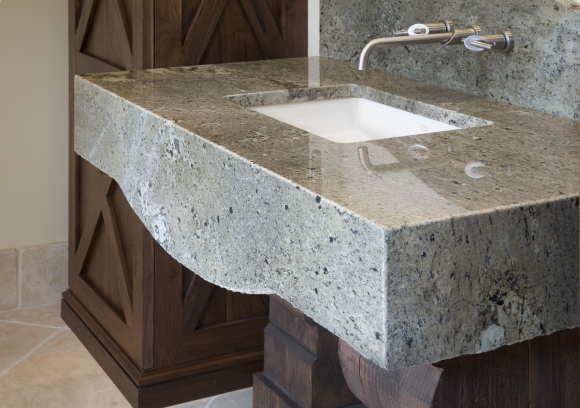 Aesthetic Granite and Marble Sink Ideas for the Home12