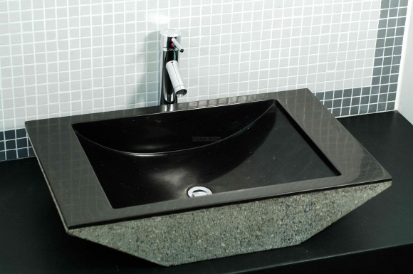Aesthetic Granite and Marble Sink Ideas for the Home17