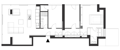 Apartment, Penthouse, Square One