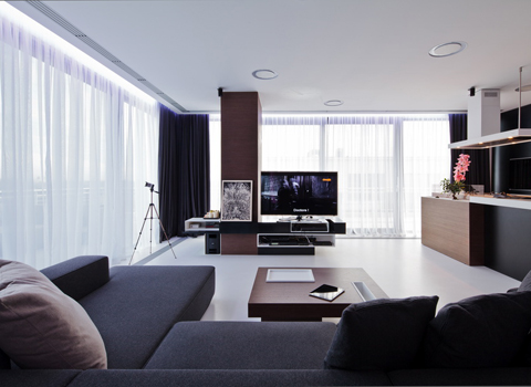 Apartment, Penthouse, Square One1